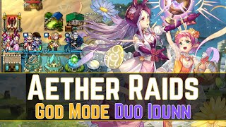 99% of Aether Raids Teams Can't Beat This Duo Idunn... 🙃 | Aether Raids Defense 【Fire Emblem Heroes】