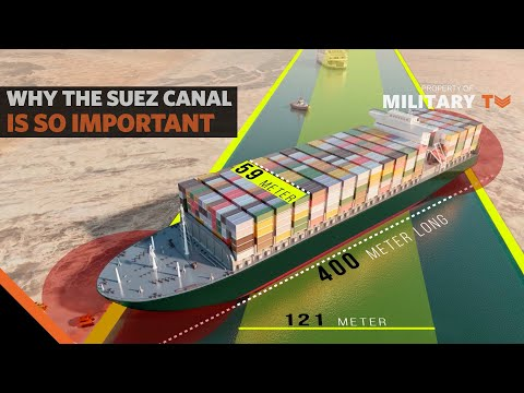 Why the Suez Canal Is So Important