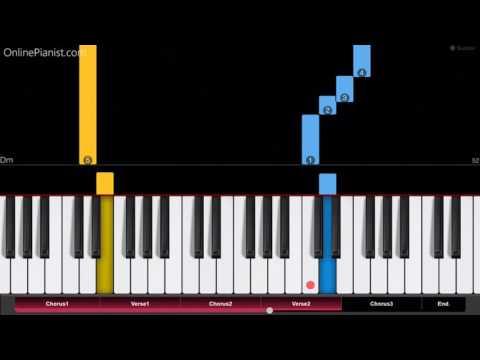 Porter Robinson & Madeon - Shelter - Easy Piano Tutorial