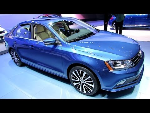 2015 Volkswagen Jetta TDI - Exterior and Interior Walkaround - 2014 New York Auto Show