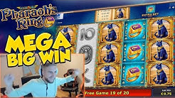 BIG WIN!!!! Pharaos Ring Big win - Casino - Huge Win (Online Casino)