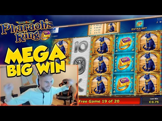 BIG WIN!!!! Pharaos Ring Big win - Casino - Huge Win (Online Casino)