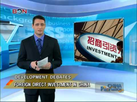 Foreign direct investment in China - China Price Watch - November 22, 2013 - BONTV China