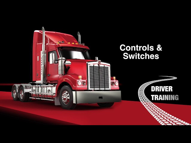 KW012 Kenworth T610 Switches & Controls