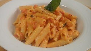 Pasta In Creamy Tomato Sauce  | Sanjeev Kapoor Khazana