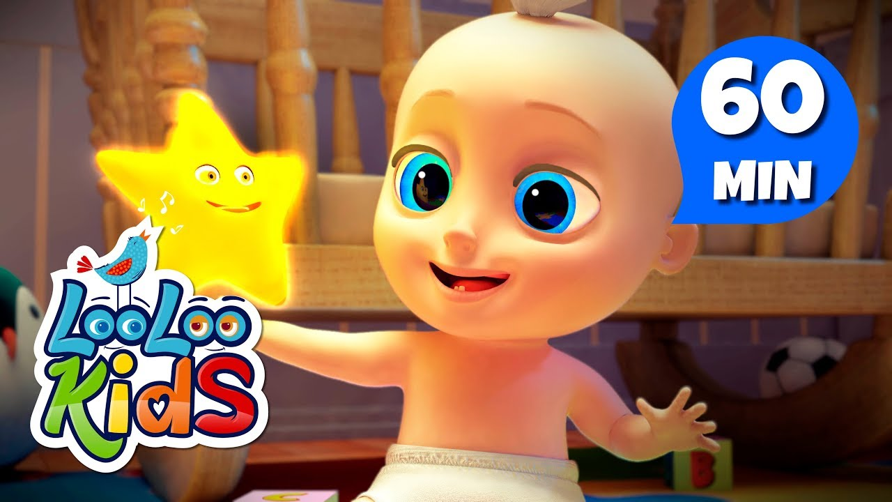 Rock-a-bye Baby - Learn English with Songs for Children | LooLoo Kids