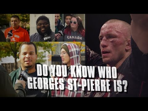 UFC 217: Does Toronto Know Who Georges St-Pierre Is?