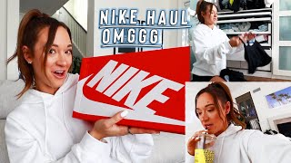 nike haul + cleaning for the 10000x