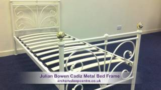 Julian Bowen Cadiz Metal Bed Frame