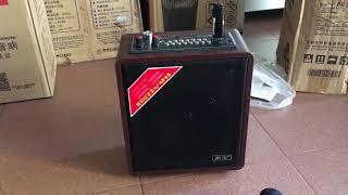 Giới thiệu loa mini A061 hát hay Mic nhẹ (lh 0918599023)