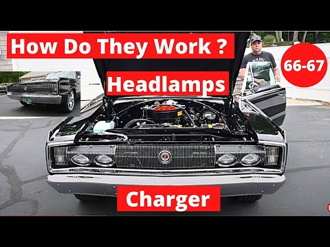 66 67 Charger How Do The  Headlamps Work?