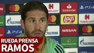 Galatasaray vs. Real Madrid | Rueda de prensa de Sergio Ramos | Diario AS