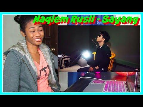 Haqiem Rusli - Sayang ( Official Music Video ) | Reaction