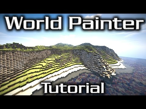 World Painter Tutorial - Mediterranean Coastline