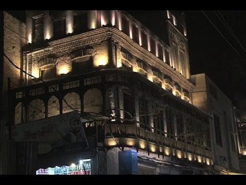 Dunya News-Gift for Lahore: Walled City installs LED lights at Delhi Gate