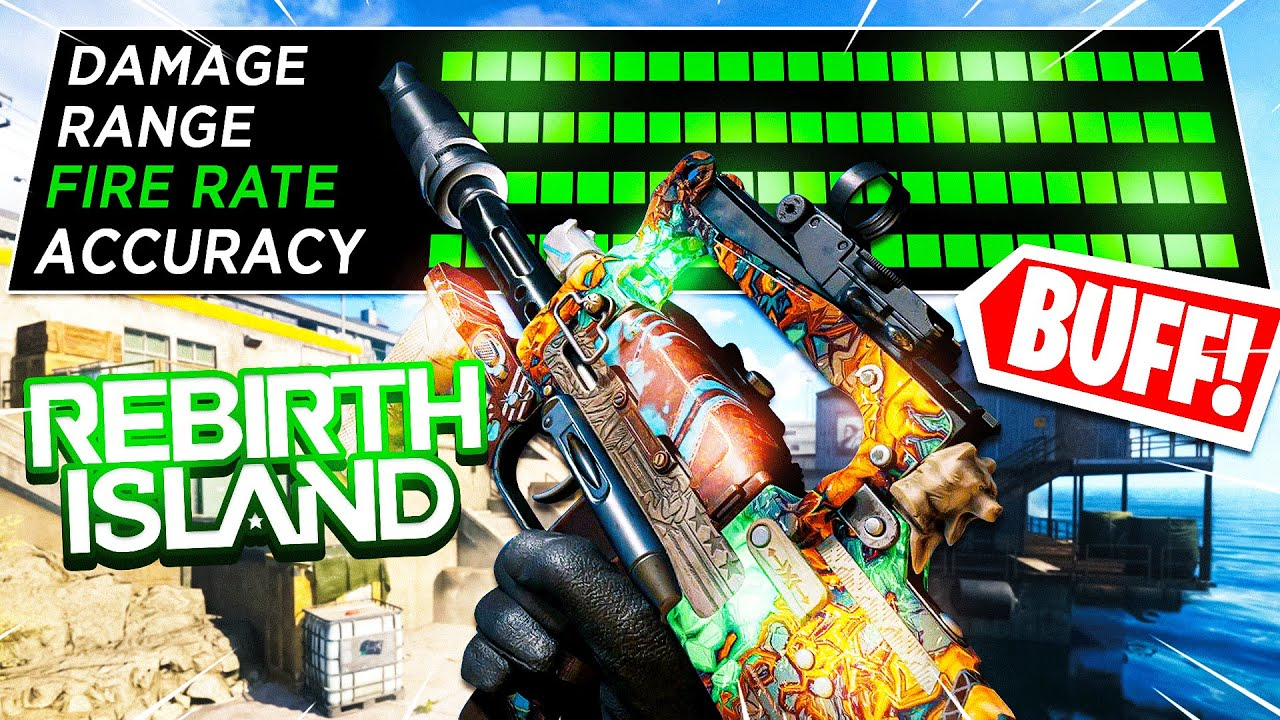 Download the BEST GROZA CLASS SETUP on REBIRTH ISLAND after BUFF!🔥(Cold War Warzone)