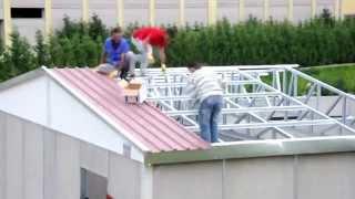 Prefabrik Yapı | Prefabrik ev yapımı montajı, Karmod