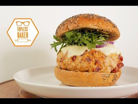 Pork & Chorizo Burger – Topless Baker
