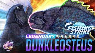 【釣魚大亨 Fishing Strike】 Legendary Fish Dunkleosteus Ancient Top Predator North Sea