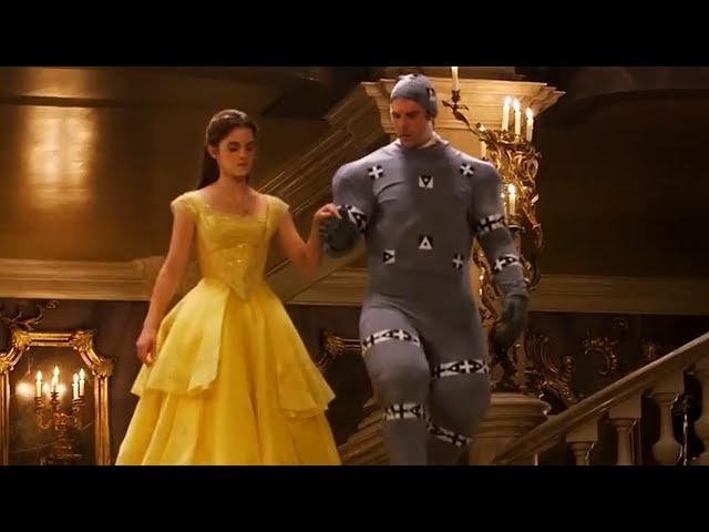 Dan Stevens Without CGI In Beauty And The Beast Footage Is Something You Cant Unsee