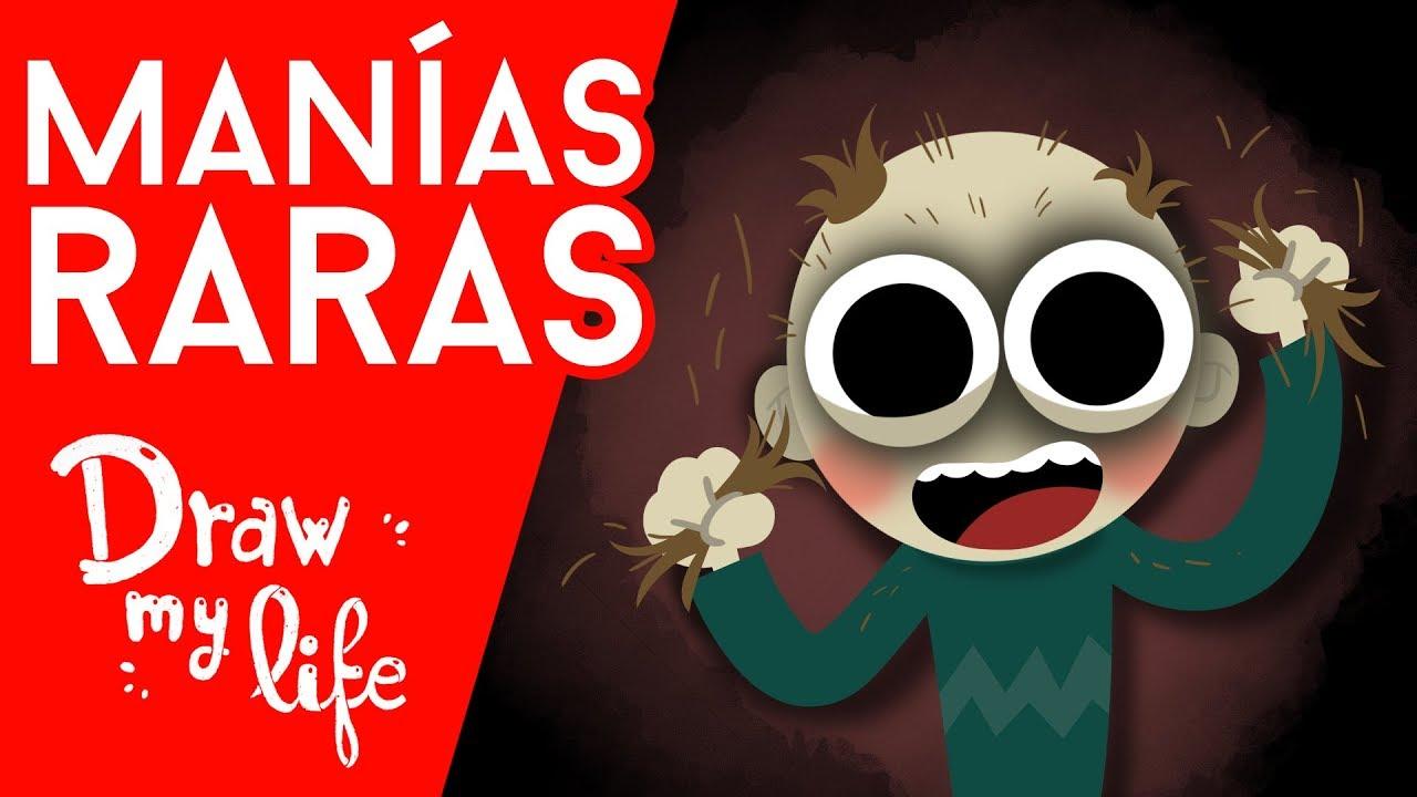 Las CINCO MANIAS más EXTRAÑAS - Draw My Life