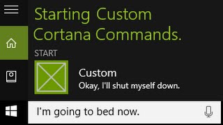 How to Create Custom Cortana Commands (1/2)
