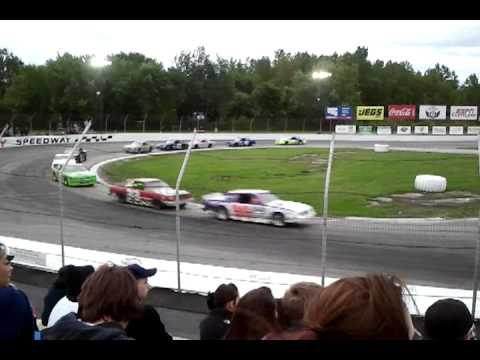 Lake County Speedway Mid Race Run Part 2