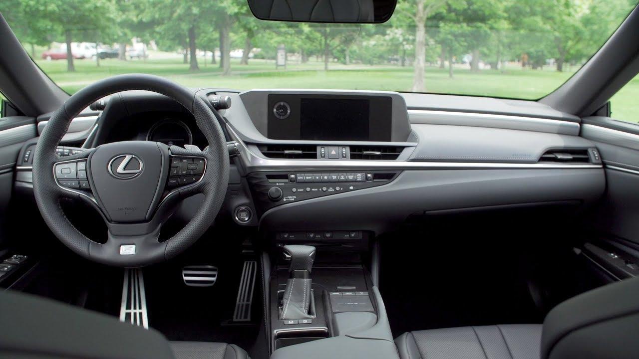 2019 Lexus Es 350 F Sport Interior F Black Hadori Youtube