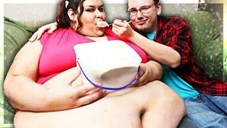Fat Girl Makes Him Feed Her... | 90 Day Fiance