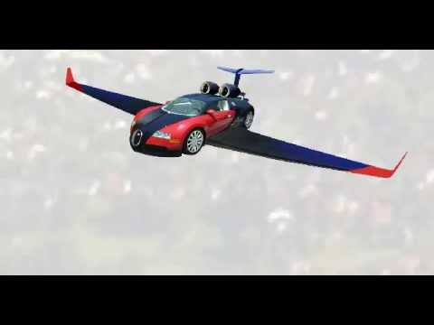 Bugatti flying car