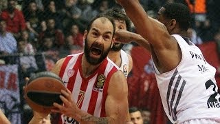 Highlights: Olympiacos Piraeus-Real Madrid, Playoffs Game 3