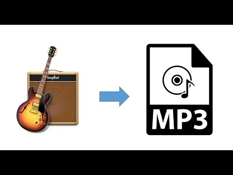 How to Export a GarageBand Song to MP3 - For your iPhone & iTunes