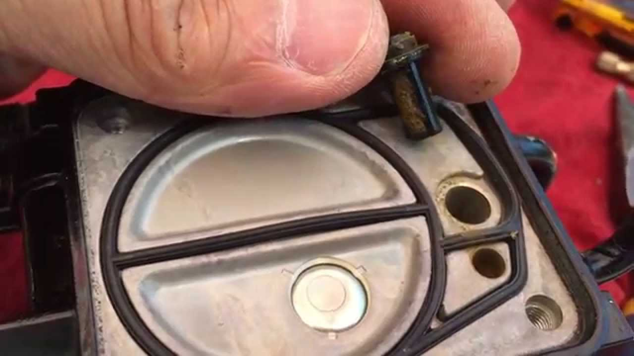 Seadoo GTX 2 Internal Fuel Filters Clogged caused by Tempo