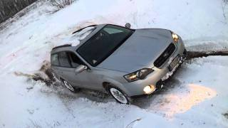 Subaru outback off road deep snow extreme part 2
