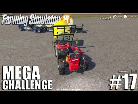 MEGA Equipment Challenge 2.0   Timelapse #17   Nebraska Map   FS19   Farming Simulator 19