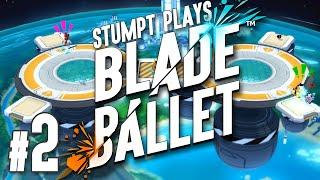 Blade Ballet - #2 - Robot Soccer! (4 Player Gameplay) [Sponsored]