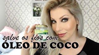 SALVE O CABELO COM ÓLEO DE COCO