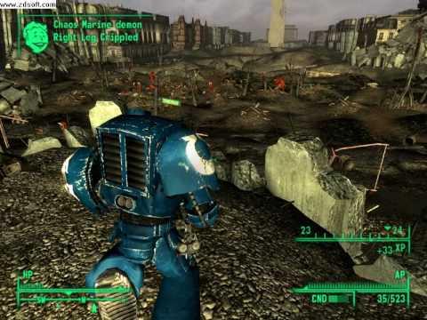 Fallout 3 - Warhammer 40000 mod |