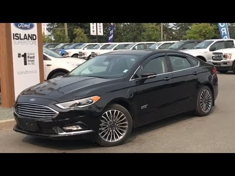 Black 2018 Ford Fusion Energi Anium Review Island