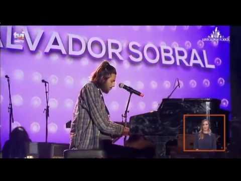 Salvador Sobral - Amar pelos dois - Meo Arena Junho 2017
