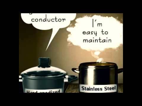 Hard Anodized Aluminum Vs Stainless Steel Cookware A Face Off