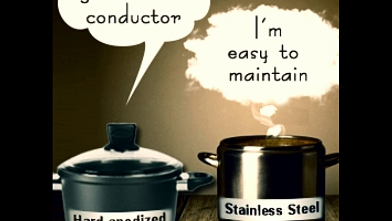 Hard Anodized Aluminum Vs Stainless Steel Cookware A Face