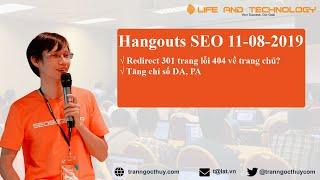 Hangout SEO 11/08/2019 - Trần Ngọc Thùy