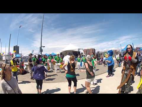 Samba Nova at Kids Help Phone walk