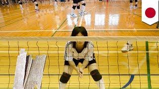 東京都北区のナショナルトレーニングセンターで行われた日本バレーボー...