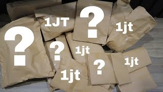 Unboxing mistery box 1 juta rupiah kira-kira balik modal gak !! + (giveaway)