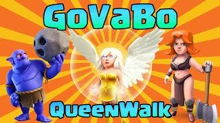 NEW INSANE TH9 3 STAR ATTACK STRATEGY | VALKYRIE + BOWLER + HEALER | GoVaBo + QW | Clash of Clans