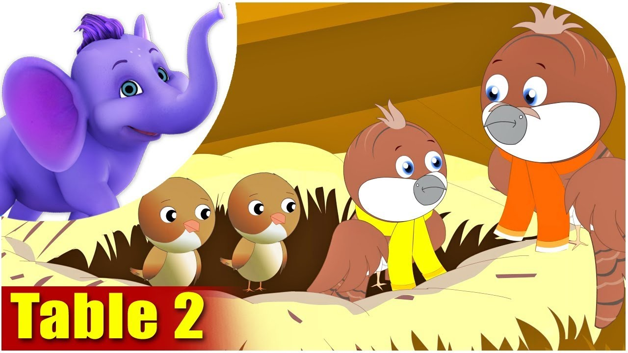 Times table songs and picture rhymes