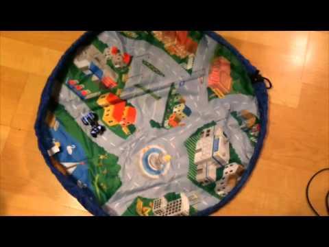Car Go Toy Car Play Mat Storage Bag Youtube