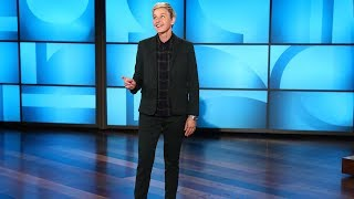 This Is What Happens When Ellen Controls Blindfolded Musical Chairs